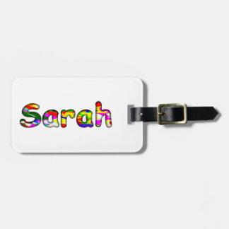 Sarah Gepäckanhänger
