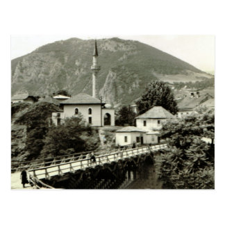 Sarejevo mit Moschee Postkarte