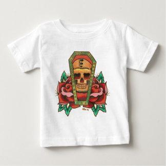 Sarg-Schädel-Entwurf durch Tyler 2008 Baby T-shirt