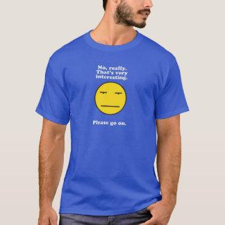 Sarkasmus an ihm ist am besten T-Shirt