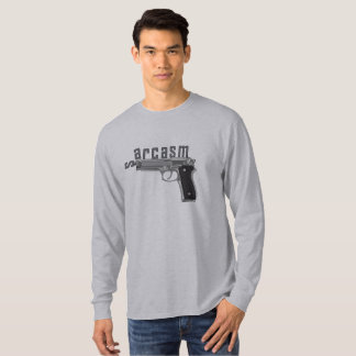Sarkasmus-Gewehr T-Shirt