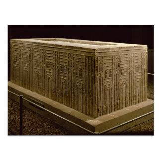 Sarkophag von Abu Hinterwelle (Kalkstein) (sehen Postkarte
