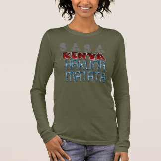 Sasa Kenia Nizza reizender Hakuna Matata Langarm T-Shirt