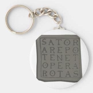 Sator Quadrat Schlüsselanhänger