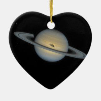 Saturn Keramik Herz-Ornament