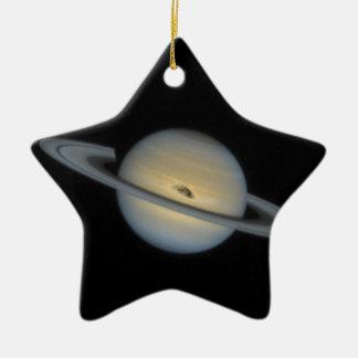Saturn Keramik Stern-Ornament