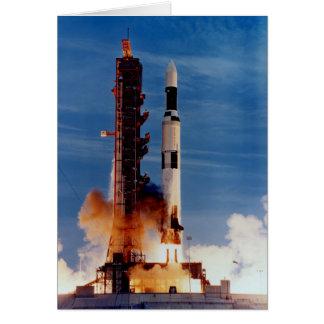 Saturn V startet die Skylab-Raumstation Karte