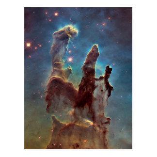 Säulen der Schaffung Postkarten