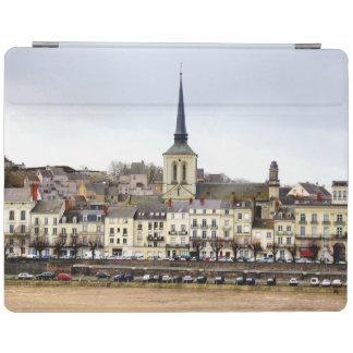 Saumur Flussufer-Szene iPad Abdeckung iPad Smart Cover