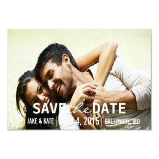 Save the Date/Hochzeit laden | wir ein Karte