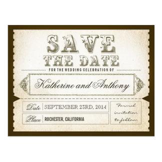 Save the Date Karten - Postkarten