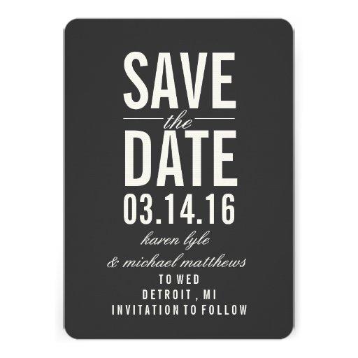 Save the Date Mitteilung | Save the Date Individuelle Einladungskarten