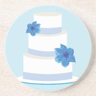 Save the Date oder Hochzeits-Kuchen-Druck Untersatz