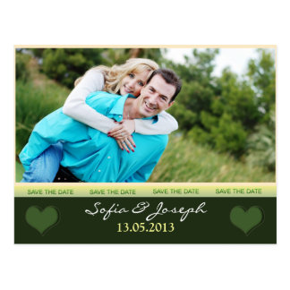Save the Date Postkarte mit Foto