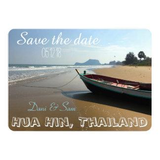 Save the Date Strand-Hochzeit Karte