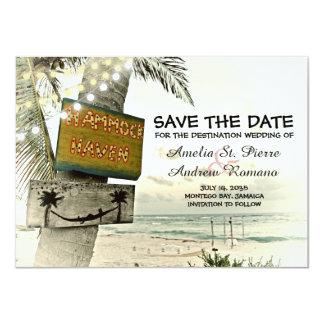 Save the Date Vintager romantischer 11,4 X 15,9 Cm Einladungskarte
