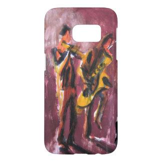 Saxo and trumpet Duett
