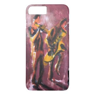 Saxo and trumpet Duett iPhone 8 Plus/7 Plus Hülle
