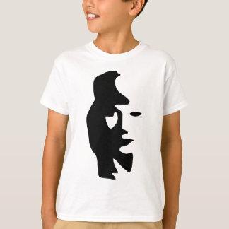 Saxophon-oder Frauen-optische Täuschung T-Shirt