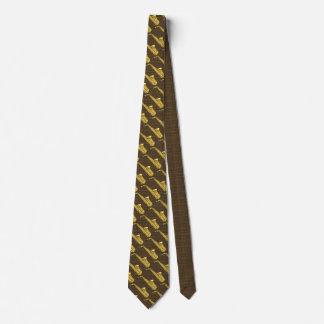 Saxophon-Saxophon Personalisierte Krawatte