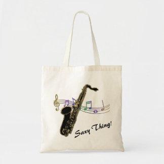 Saxy Sache! Regenbogen merkt Saxophon-Musik-Tasche Tragetasche