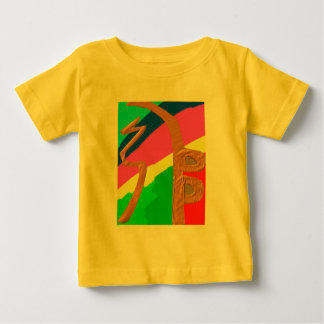 Sayhayki   Goldregenbogen - Reiki heilendes Symbol Baby T-shirt