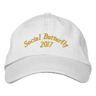 SBM 2017 der Hut gestickter Frauen Bestickte Baseballmütze