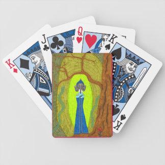 Scarlet-Blume (Dackel-Version) Bicycle Spielkarten