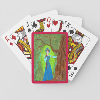 Scarlet-Blume Spielkarten