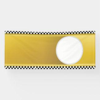 Schablone taxie banner
