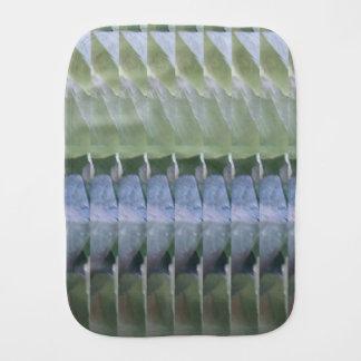 SchabloneDIY Burp-Stoffkristallsteinmusterspaß Spucktücher