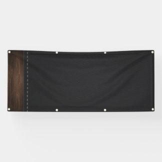 Schablonen-Zuhausebüro Banner