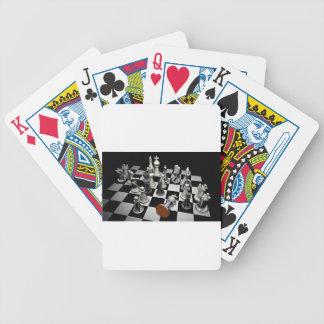 Schach Bicycle Spielkarten