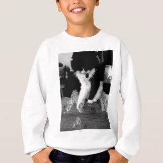 Schach, das Katze spielt Sweatshirt