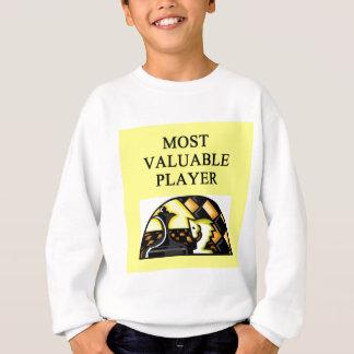 SCHACH der meiste wertvolle Spieler Sweatshirt