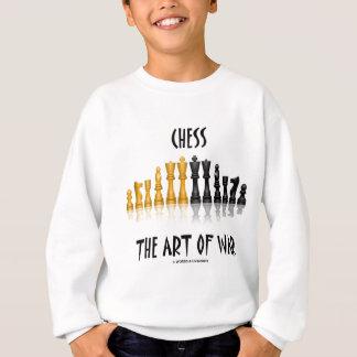 Schach die Kunst des Krieges (Matisse Schriftart) Sweatshirt