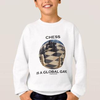 Schach ist ein globales Spiel (Schach-Haltung) Sweatshirt