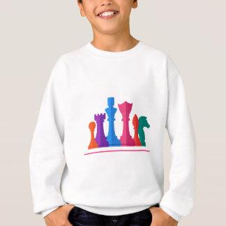 Schach-Spiel Sweatshirt