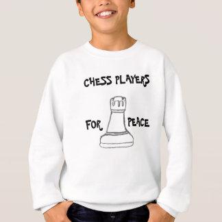 Schach-Spieler für Frieden Sweatshirt