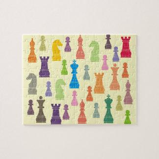 Schach-Stück-Puzzle Puzzle