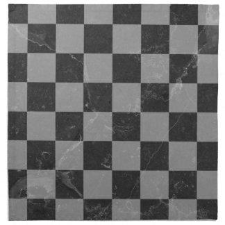 Schachmuster Serviette