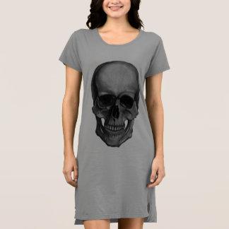 Schädel für Horror Fans und Goths Kleid