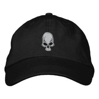 Schädel gestickter Hut Bestickte Baseballkappe