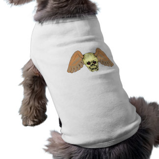 Schädel Totenkopf Flügel skull wings Shirt