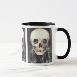 Schädel-Überraschung No2 - Halloween-Tasse Tasse