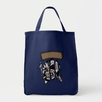 Schädel-Zerreißen Einkaufstasche