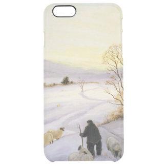 Schafe auf der Kante Durchsichtige iPhone 6 Plus Hülle