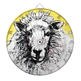 Schafe Dartscheibe