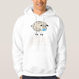 Schafe tragen lustige TShirt-Maske Hoodie