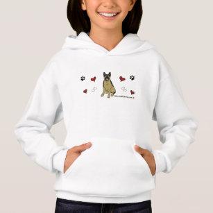 Schäferhund Hoodie